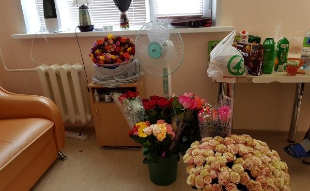 Миллион алых роз для Даши.