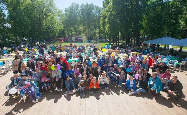 Большой праздник ко Дню защиты детей провел наш фонд