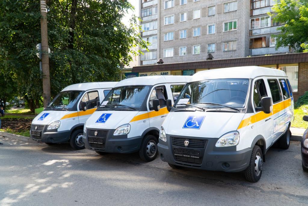 Социальное такси фонда Ани Чижовой